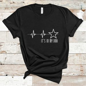 Nice Texas Cowboy Heartbeat with Lonestar Its In My DNA shirt