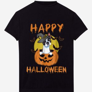 Official Boston Terrier - Funny Happy Halloween shirt