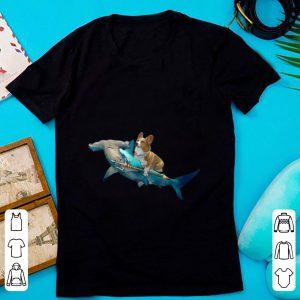 Official Corgi Riding a Hammerhead shark shirt