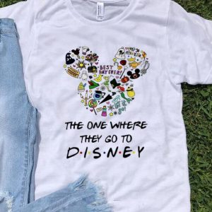 Official Disney Mickey The One Where they Go To shirt