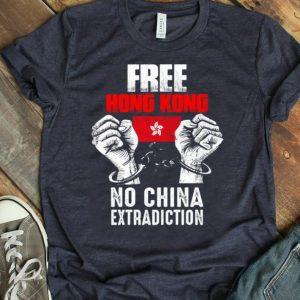 Official Free Hong Kong No China Extradiction shirt