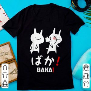 Official Kawaii Neko Baka Japanese Word shirt