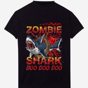 Official Zombie Shark Halloween shirt