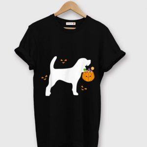 Original Beagle Halloween Costume Outfit Pumpkin Dog Cute Pet shirt