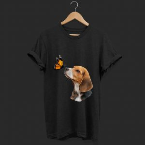 Original Beagle With Butterfly shirt