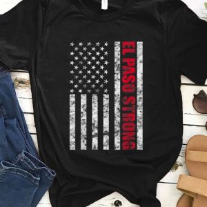 Original El Paso Strong American Flag shirt