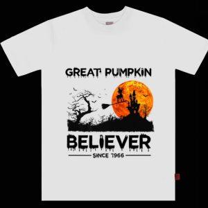 Original Great Pumpkin Believer Since 1966 Halloween shirt