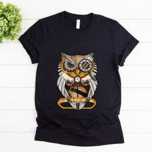 Original Owl Gear Cogs Clockwork Steampunk Mechanical shirt