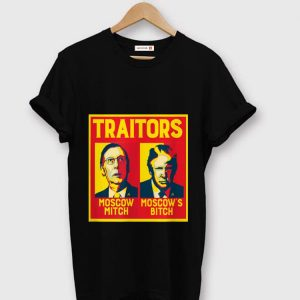 Original Traitors Moscow Mitch Moscow's Bitch McConnell Trump shirt