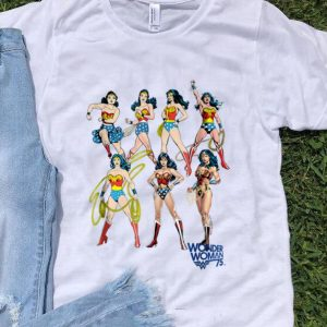 Original Wonder Woman Decades DC shirt