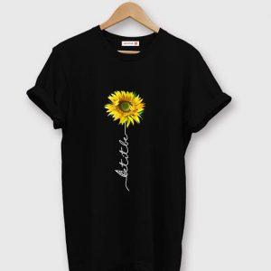 Premium Let It Be Sunflower shirt