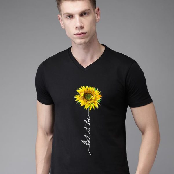 Premium Let It Be Sunflower shirt