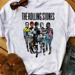 Premium Rolling Stones Official Silhouette Collage shirt