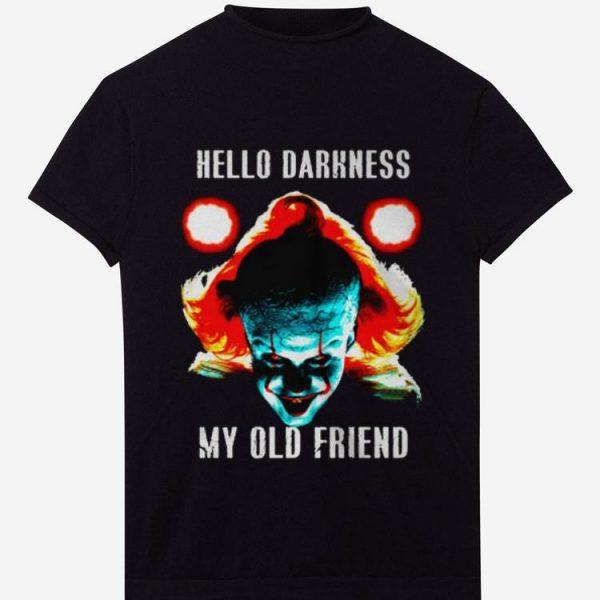 Premium hello darkness my old friend pennywise shirt