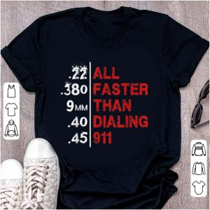 Pretty All Faster Than Dialing 911 shirt