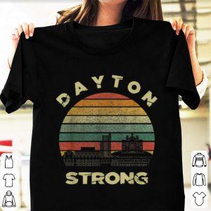 Pretty Dayton Strong Cityscape Ohio Vintage shirt