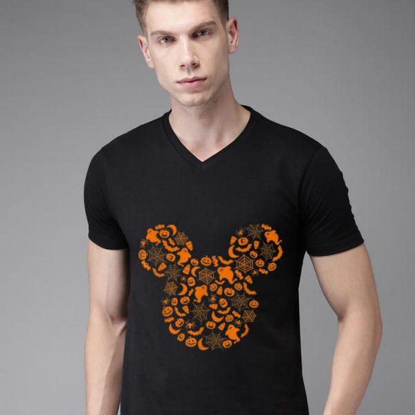 Pretty Disney Mickey Mouse Halloween Silhouette shirt