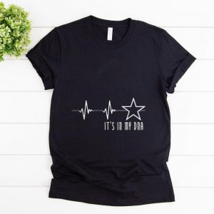 Pretty Texas Cowboy Heartbeat with Lonestar Its In My DNA shirt