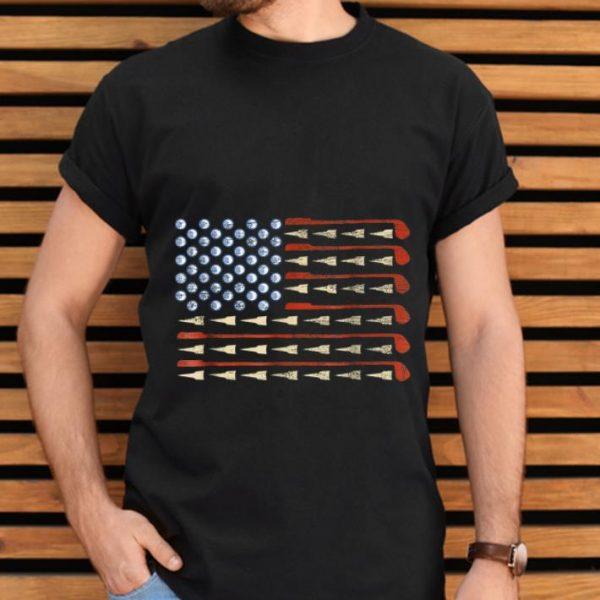 Top Golf American Flag shirt