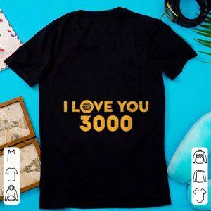 Top Marvel Avengers Endgame Iron Man I Love You 3000 shirt