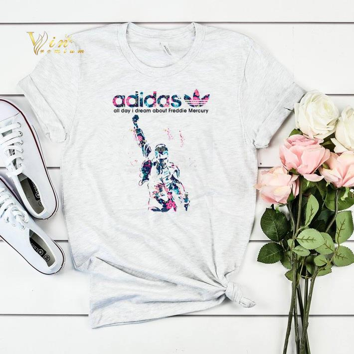 adidas all day i dream about Freddie Mercury shirt sweater