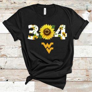 Awesome 304 West Virginia Sunflower shirt