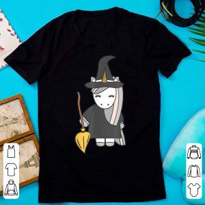 Awesome Cute Unicorn Witch Halloween Costume Men Women Gift shirt
