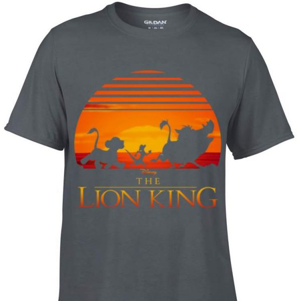 Awesome Disney Lion King Classic Sunset Squad shirt