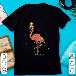 Awesome Flamingo Christmas Lights shirt