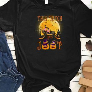 Awesome Flamingos this witch loves Jeep Halloween shirts