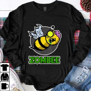 Awesome Halloween Zombee with a Bee turn into a Zombie shirt
