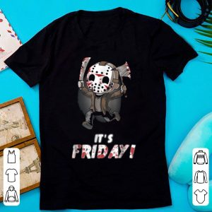 Awesome It's Friday Funny Halloween Horror Graphic shirt