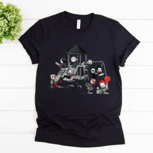 Awesome Scary Playground Puppet Doll Horror Character shirts