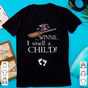 Awesome Winnie I Smell A Child Pregnancy Halloween Costume shirt