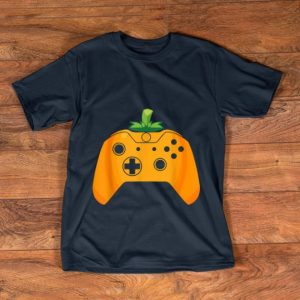 Beautiful Video Gamer Halloween Funny Pumpkin Costume shirt