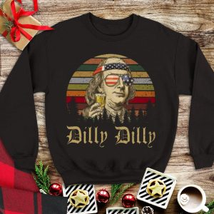 Benjamin Franklin Dilly Dilly Vintage shirt
