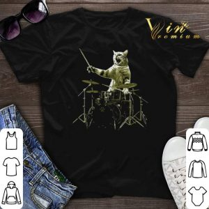 Cat I'm with the drummer shirt sweater