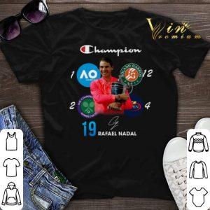 Champion Wimbledon Rafael Nadal 19 Roland Garros US Open shirt sweater