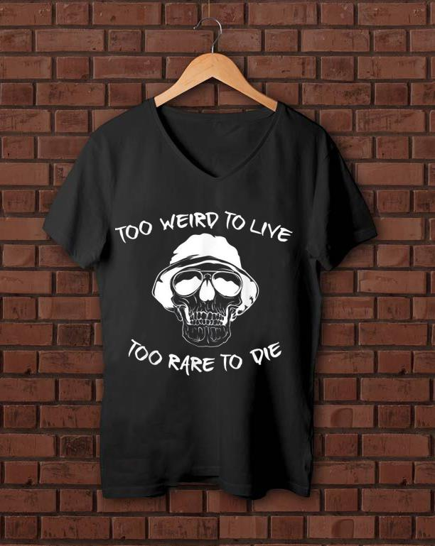 Funny Skull Graphic Weird Halloween Live Die shirt 1 - Funny Skull Graphic - Weird Halloween - Live Die shirt
