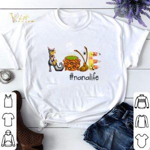 Halloween Love Nana Life shirt