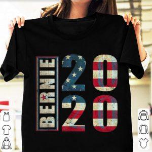 Hot Bernie 2020 American Flag shirt