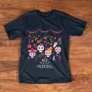 Hot Dia De Los Muertos Day Of The Dead Hanging Skulls Halloween shirt