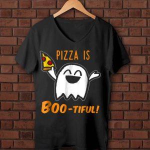 Hot Halloween Cute Ghost Pizza Is Boo-tiful shirt