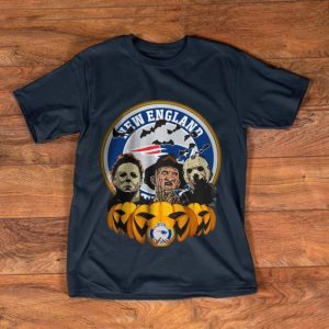 Hot The Horror Trinity Pumpkin New England Patriots Halloween shirt