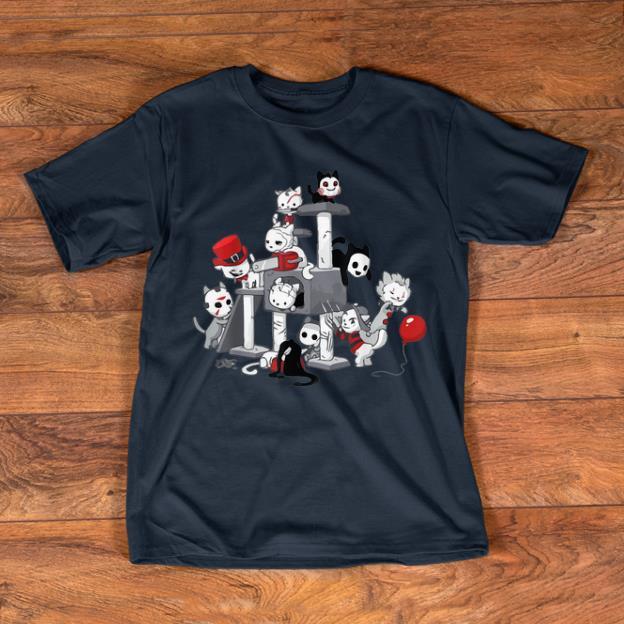 Nice I Love Cats Horror Kitties Halloween Horror Character shirts 1 - Nice I Love Cats Horror Kitties Halloween Horror Character shirts