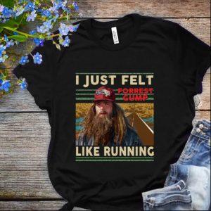Nice I just felt forrest gump like running Valencia Marathon shirt