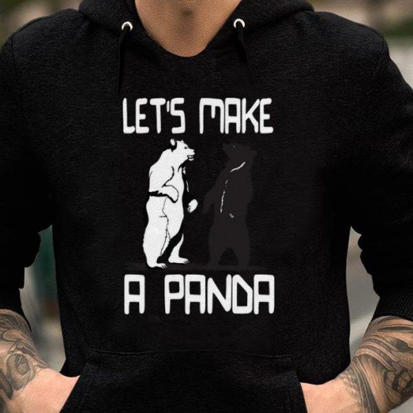 Nice Let's Make a Panda Bear shirts