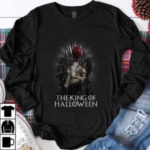 Nice Pennywise The King Of Halloween Throne shirt