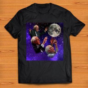 Nice Three Bernie Sanders Moon shirts
