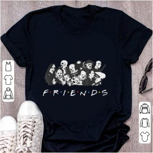 Official All Halloween Characters Friends shirt